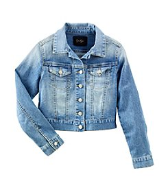 Jessica Simpson Girls' 7-16 Pixie Denim Jacket