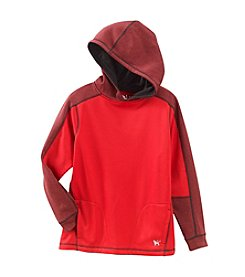 Mambo® Boys' 8-20 Long Sleeve Poly Pattern Fleece Hoodie