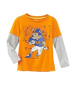 Ruff Hewn Mix & Match Boys' 2T-7 Baller Bear Layered Top