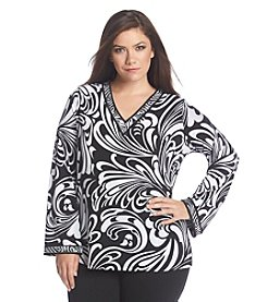 MICHAEL Michael Kors® Plus Size Printed Tunic