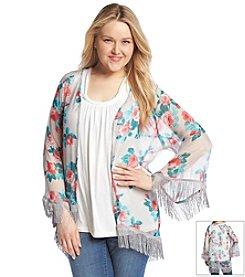 Jessica Simpson Plus Size Sammy Blossom Kimono