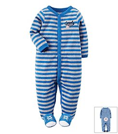 Carter's® Baby Boys' Baseball Terry Snap-Up Sleep & Play Footie