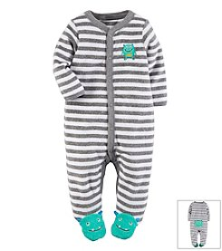Carter's® Baby Boys' Monster Terry Snap-Up Sleep & Play Footie