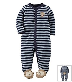 Carter's® Baby Boys' Monkey Terry Snap-Up Sleep & Play