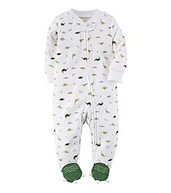 Carter's® Baby Boys' Dino Terry Zip-Up Sleep & Play