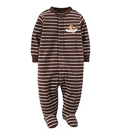Carter's® Baby Boys' Newborn-9M Fox Fleece Snap-Up Sleep & Play
