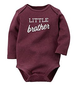 Carter's® Baby Boys' Month Little Brother Bodysuit