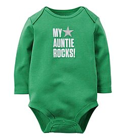 Carter's® Baby Boys' My Auntie Rocks Bodysuit