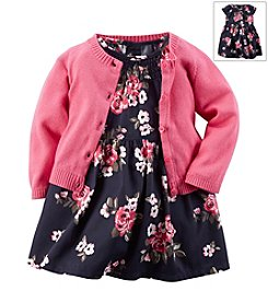 Carter's® Baby Girls' Woven Dress With Cardigan