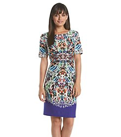 Nine West® Mirrored Print Dress