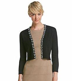 Calvin Klein Pearl Cardigan Shrug