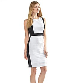 Calvin Klein Textured Ponte Dress