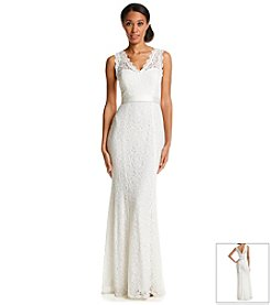 Adrianna Papell® Sleeveless Lace Gown