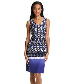 Nine West® Sleeveless Vneck Dress