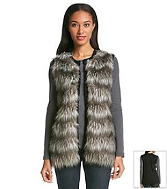 Oneworld® Faux Fur Vest