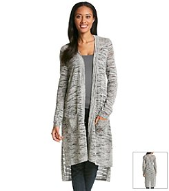 Fever™ Marled Duster Sweater