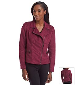 Laura Ashley® Faux Suede Jacket