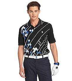 Izod® Men's Short Sleeve Argyle Pique Polo