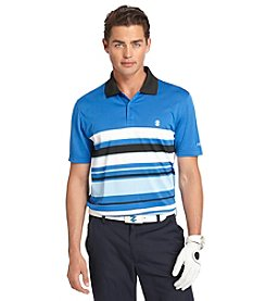 Izod® Men's Short Sleeve Engineer Stripe Polo