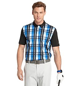 Izod® Men's Short Sleeve Mainframe Printed Polo