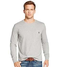 Polo Ralph Lauren® Men's Long Sleeve Crewneck Pocket Tee