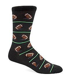 Hot Sox® Men's Football Crew Socks