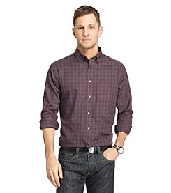 Van Heusen® Men's Long Sleeve Plaid No Iron Button Down