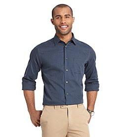 Van Heusen® Men's Long Sleeve Stripe No Iron Button Down