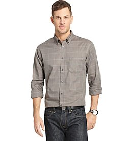 Van Heusen® Men's Long Sleeve No Iron Large Plaid Button Down