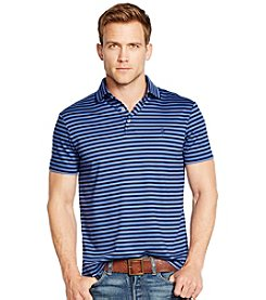 Polo Ralph Lauren® Men's Short Sleeve Pima Soft Touch Fine Stripe Polo