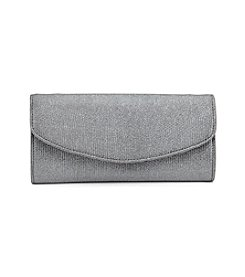 La Regale® Shimmer Textured Clutch