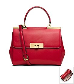 MICHAEL Michael Kors® Marlow Medium Leather Satchel