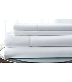 Elite Home Products Luxury Comfort Solid Hemstitch 1500-Thread Count Sheet Set