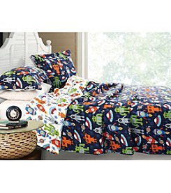 Greenland Home® Robots in Space 3-pc. Quilt Set