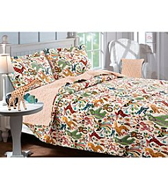 Greenland Home® Safari Park 3-pc. Quilt Set