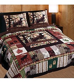 Greenland Home® Whitetail Lodge 3-pc. Quilt Set
