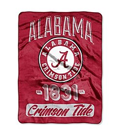 University of Alabama Varsity Micro Raschel Throw