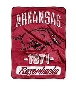 NCAA® Arkansas University Varsity Micro Raschel Throw