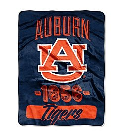 NCAA® Auburn University Varsity Micro Raschel Throw