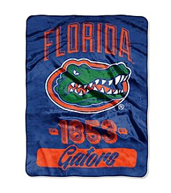 University of Florida Varsity Micro Raschel Throw