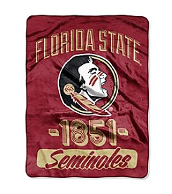 Florida State University Varsity Micro Raschel Throw