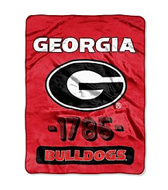 Northwest Company NCAA® Georgia Bulldogs Varsity Micro Raschel Throw
