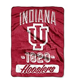 Indiana University Varsity Micro Raschel Throw
