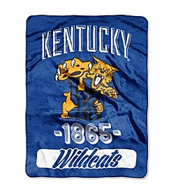 NCAA® University of Kentucky Varsity Micro Raschel Throw