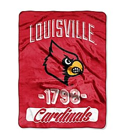 University of Louisville Varsity Micro Raschel Throw