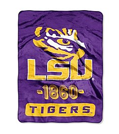 Louisiana State University Varsity Micro Raschel Throw