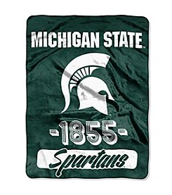Michigan State University Varsity Micro Raschel Throw