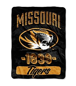 University of Missouri Varsity Micro Raschel Throw