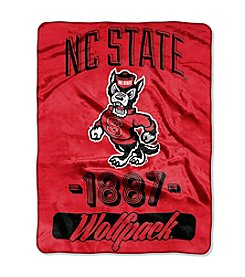 North Carolina State University Varsity Micro Raschel Throw