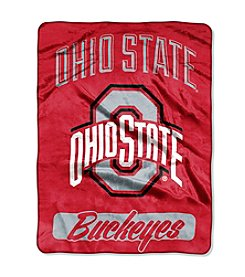 Ohio State University Varsity Micro Raschel Throw